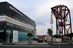 BMW Oracle Team im Hafen von Valencia